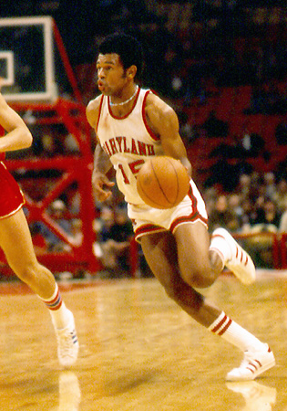 John Lucas was part of the second Midnight group, which was the first to host a scrimmage.