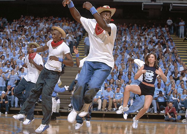 Roy Williams, now at North Carolina, has a long history of allowing his players to perform sketches and dances during Midnight Madness.