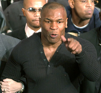 An outburst at a pre-fight press conference left many wondering about how Tyson would fare in the ring.