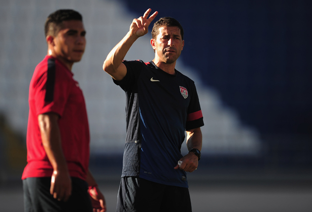 U.S. Under-20 men's national team coach Tab Ramos plays a vital role in cultivating the next generation of American talent.
