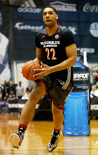 Okafor had hoped to make his commitment quietly, but the spotlight was too bright on the McDonald's All-American.