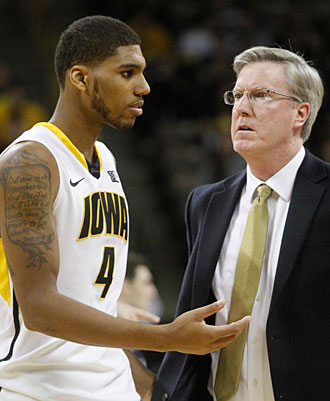 Roy Devyn Marble and Fran McCaffery were there for each other when both suddenly had  to confront cancer.