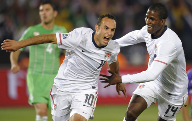 Landon Donovan's most iconic moment: His 2010 World Cup goal against Algeria.