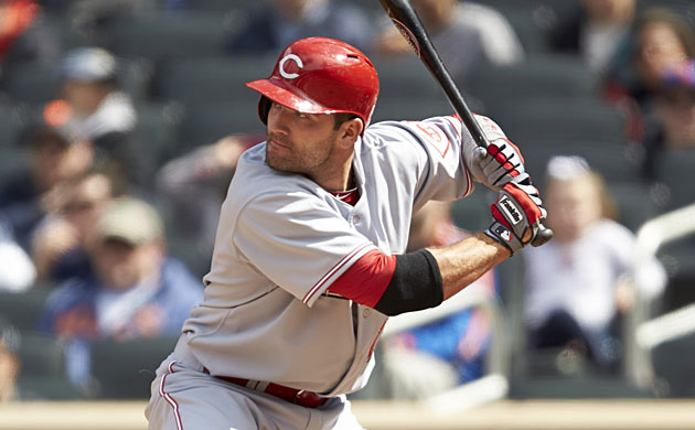 Joey Votto posted a career-low .799 OPS in an injury-filled 2014.