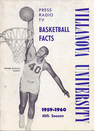 George Raveling pulled down 835 rebounds in three varsity seasons at Villanova, still 11th on the all-time list.