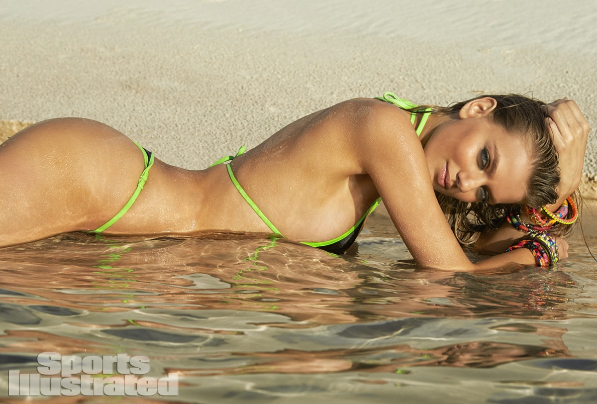 Bregje Heinen was photographed by Raphael Mazzucco in Brazil. Swimsuit by TeenyB Bikini Couture.