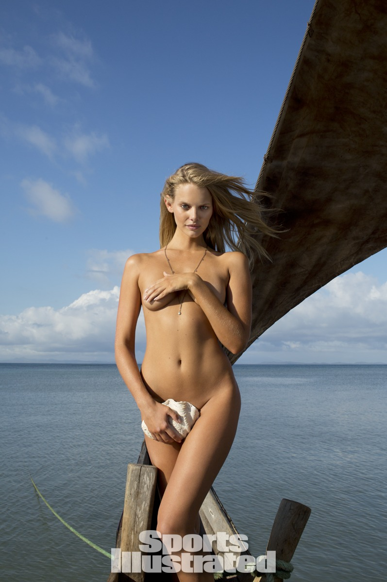 Marloes Horst was photographed by Derek Kettela in Madagascar.