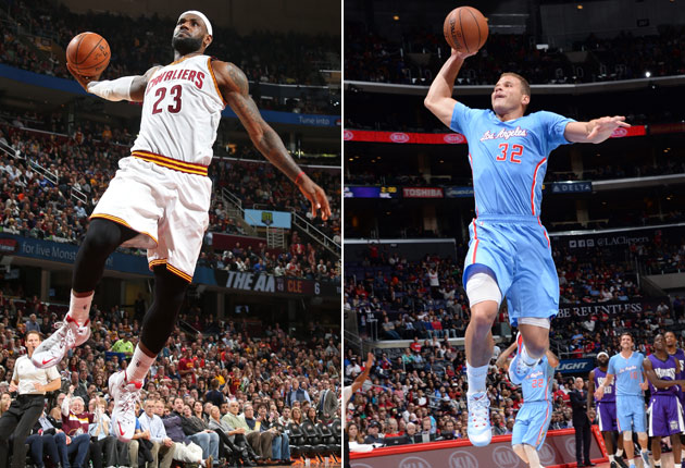LeBron James, Blake Griffin miss out on SI's dream 2015 ...  Blake