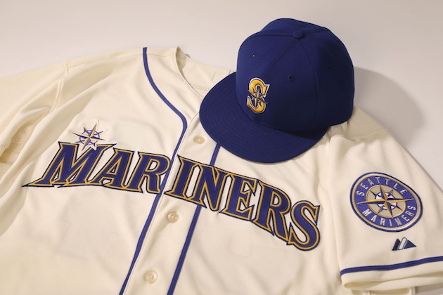 Seattle Mariners New Uniform Alternate Has Gold Accents