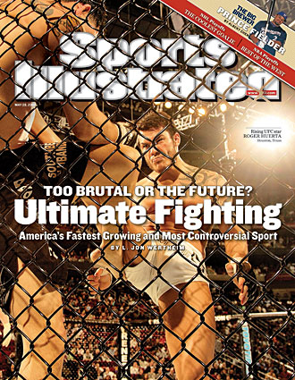 Roger Huerta landed on the cover of the May 28, 2007 issue of SI.