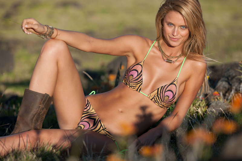 Kate Bock on Easter Island, Chile