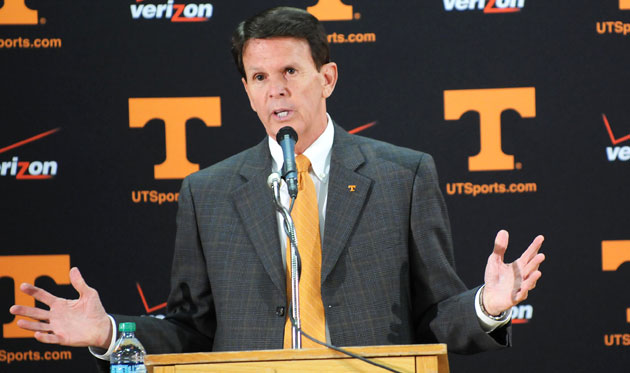 "Tennessee AD Dave Hart says that the Lady Vols logo won't disappear entirely, but that he wants to ""celebrate the future."""