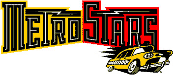 An alternate original MetroStars logo.