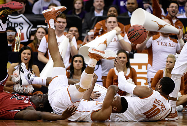 If Texas falters in the Big 12 tournament today, will the Longhorns still make the NCAA tourney?