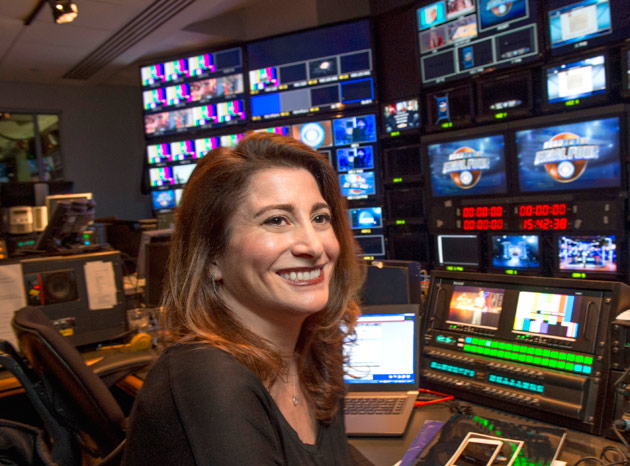 CBS Sports producer and sports television pioneer Deb Gelman.