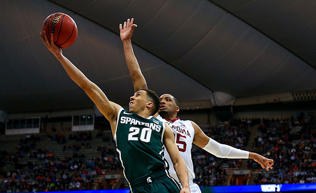 Travis Trice will try to get Michigan State to the Final Four for the first time since 2010.