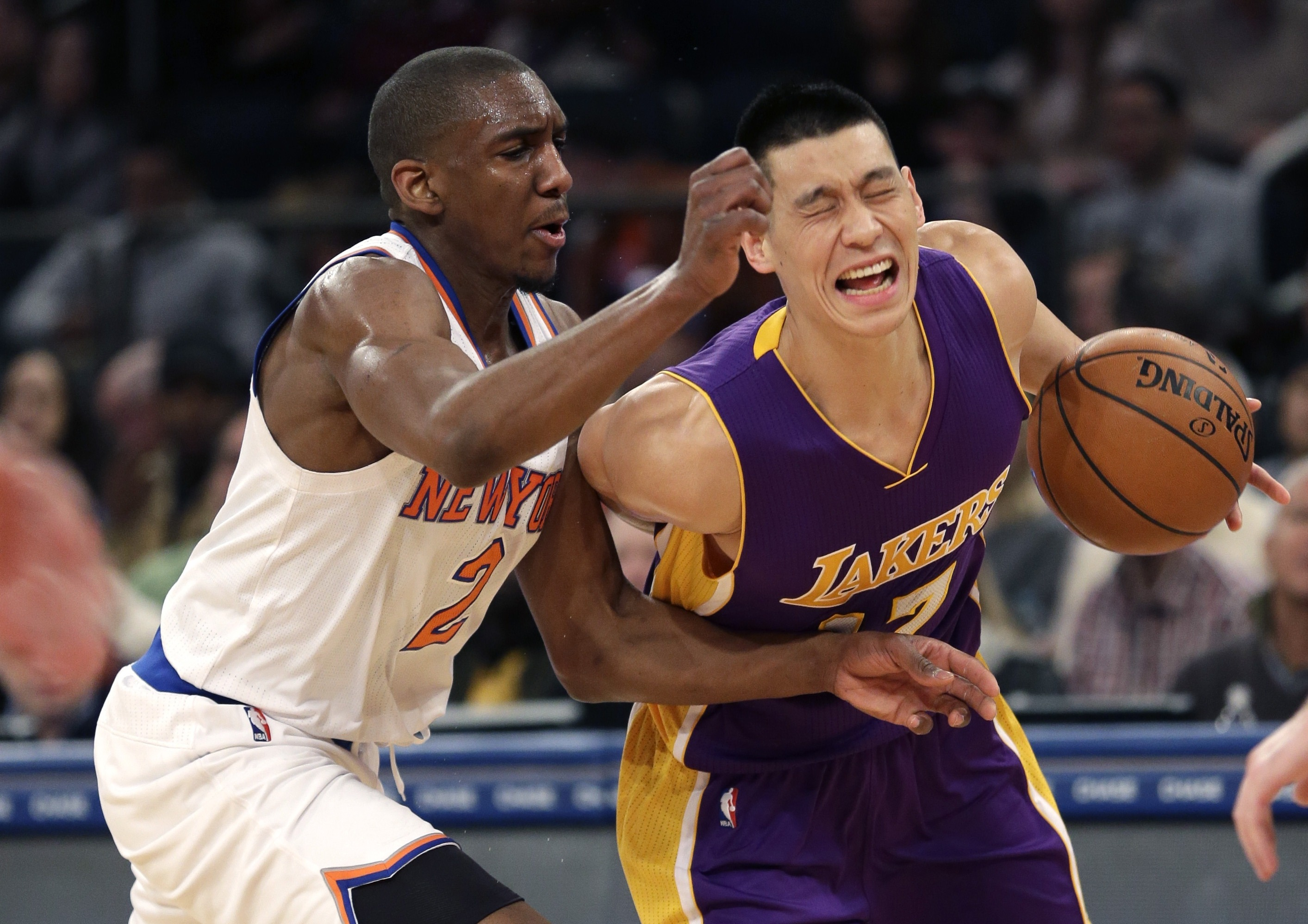 It's painful for Jeremy Lin to suit up against his old team.