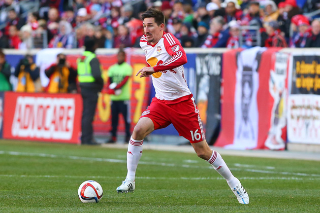 Sacha Kljestan is back in MLS with the Red Bulls after a successful run with Belgian power Anderlecht.