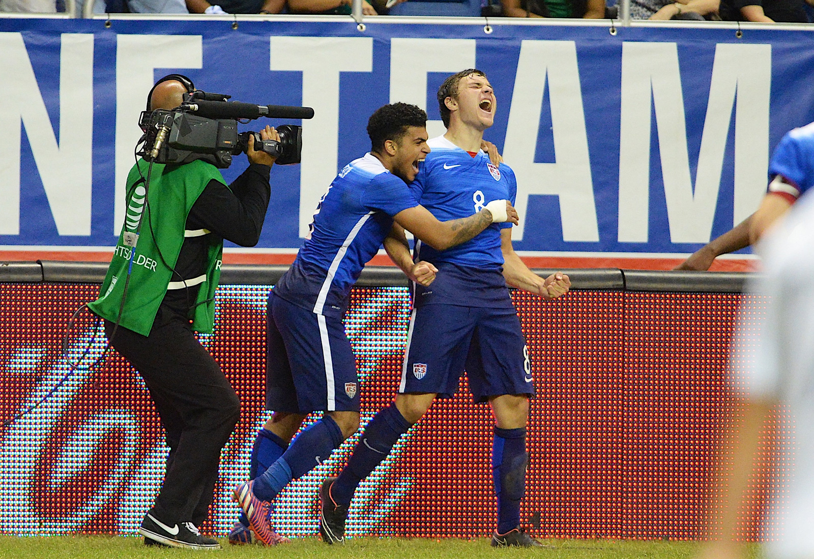 Jordan Morris etched his name in U.S.-Mexico lore, as the Stanford University forward scored in his first senior national team start to break a scoreless draw against El Tri at the Alamodome.