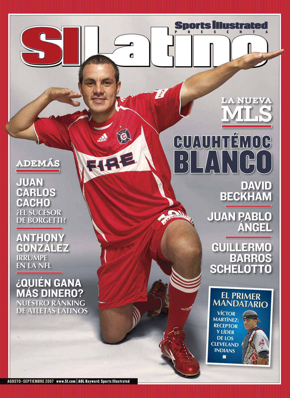 Blanco's arrival in MLS with the Chicago Fire made for some front-cover headlines.