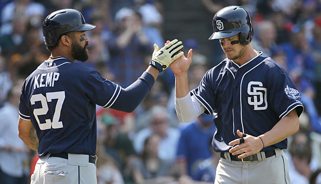 Matt Kemp has struggled and Wil Myers is now hurt, putting a damper on San Diego's high hopes this season.