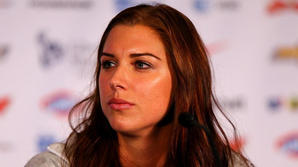Fantastic Alex Morgan39S Knee Injury Will Limit Her In World Cup Si Com Short Hairstyles Gunalazisus
