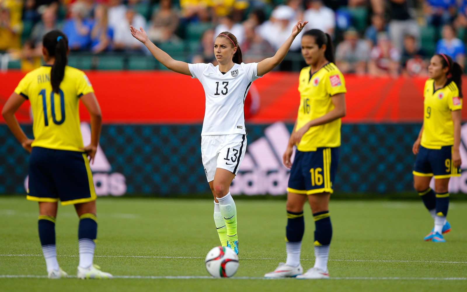 Alex Morgan's goal broke a 0-0 draw, provided relief after Abby Wambach's PK miss and helped the U.S. women to the World Cup quarterfinals after a 2-0 win over Colombia in the round of 16.