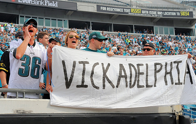 Three games into 2010, Vick had swept up Eagles fans in a wave of optimism.