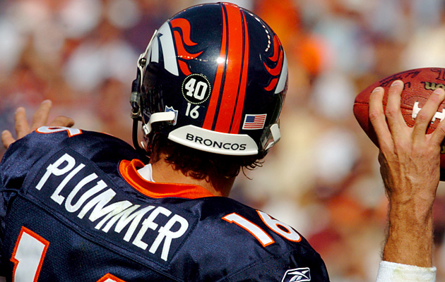 Plummer wore a sticker on his helmet in honor of Pat Tillman, but faced heavy fines for doing so.