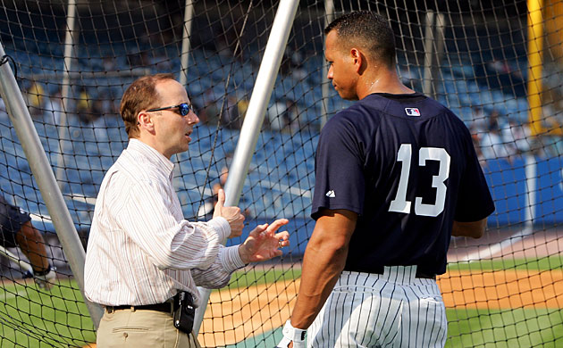 Brian Cashman brought Alex Rodriguez to the Bronx in 2004 and has had to put up with A-Rod's ups and downs ever since.