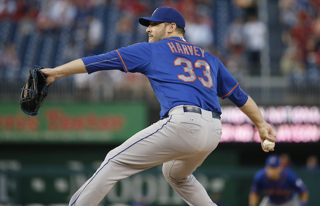 For all his question marks, Harvey's resurgence has been key to the Mets' success.