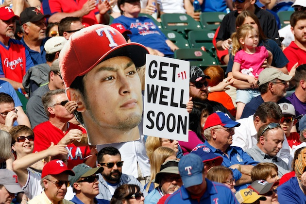 The loss of Yu Darvish has loomed large for the Rangers.
