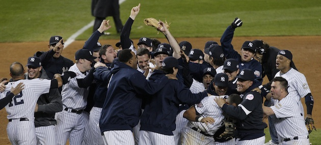 The 2009 Yankees were the last to capture both 100 regular-season wins and a World Series.