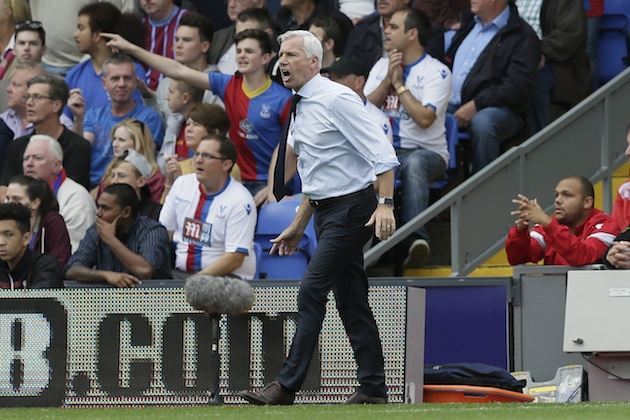 Has the famously mercurial Alan Pardew finally found a fit with the Eagles?