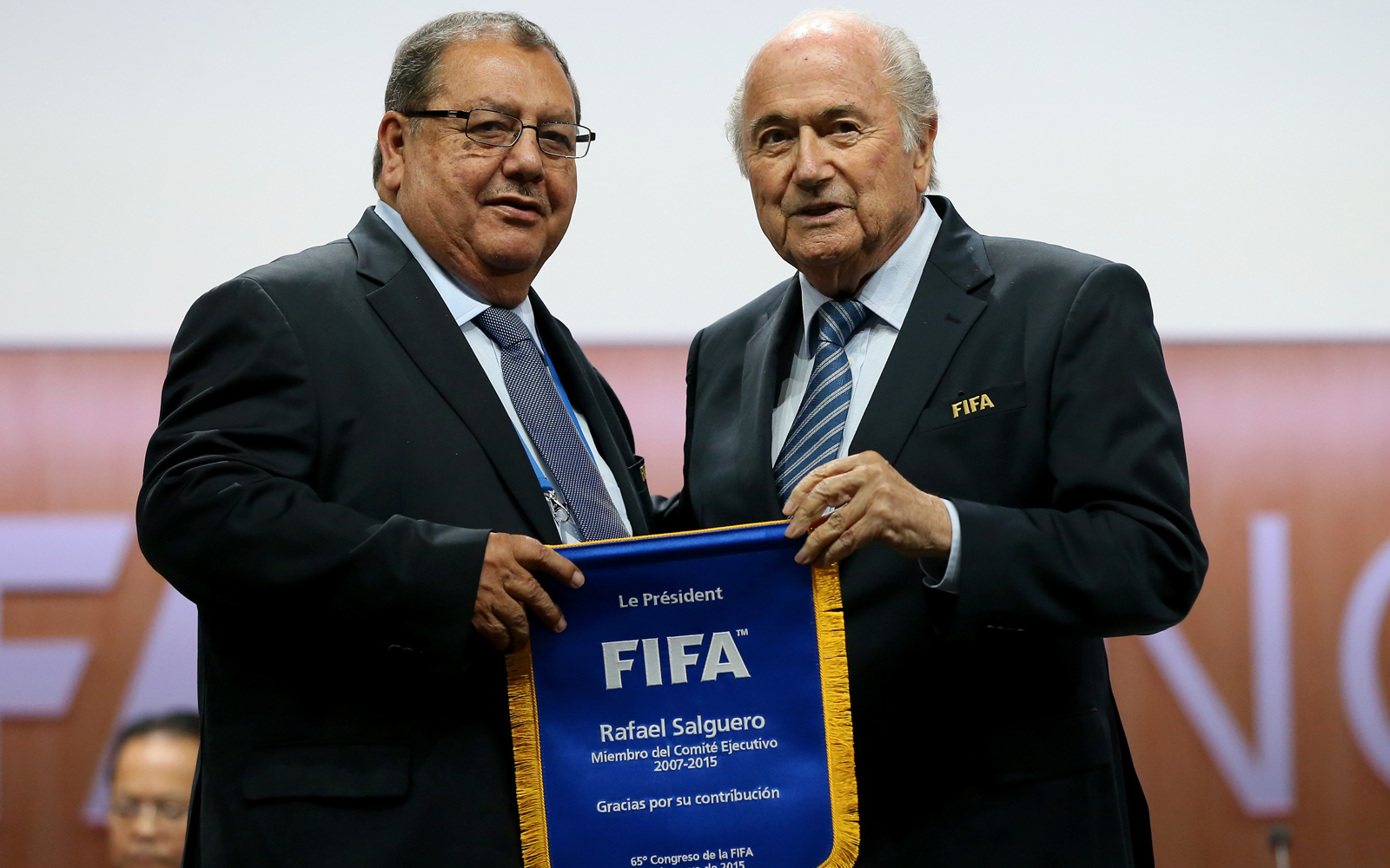 Former FIFA executive committee; Former president, Guatemalan football federation