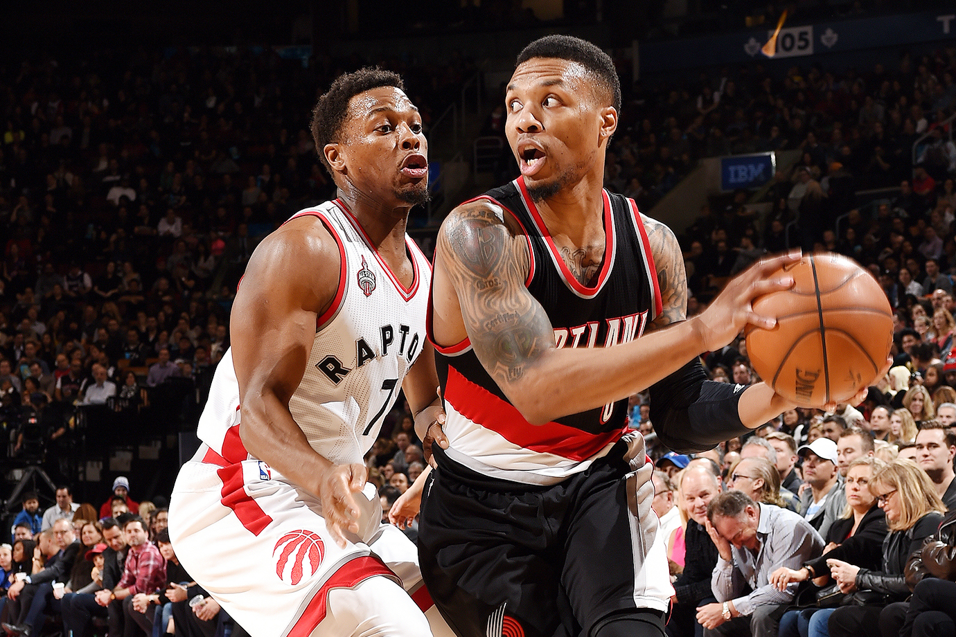 50 vs Toronto (March 4, 2016 — Pictured), 51 vs Golden State (Feb. 19, 2016)
