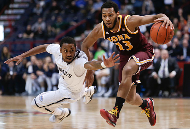 An NCAA bid may be out of reach for Je'lon Hornbeak and Monmouth after the Hawks lost to Iona in the MAAC title game.