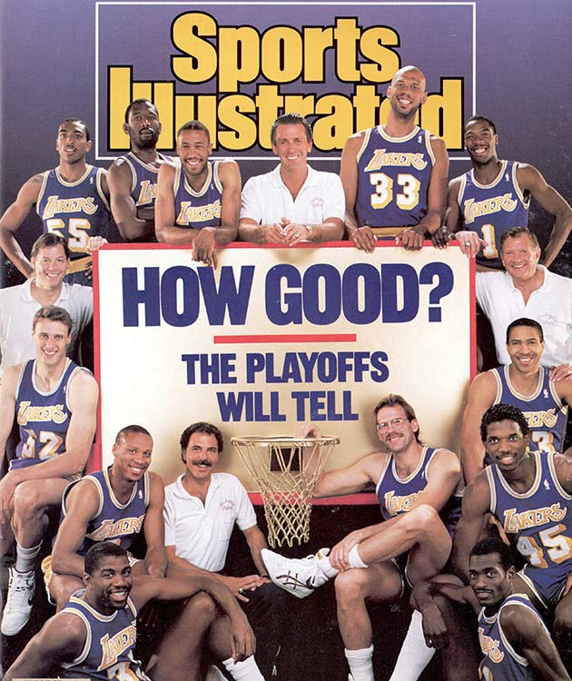 Gary Vitti (left of hoop) appeared on the cover of SI in 1998.