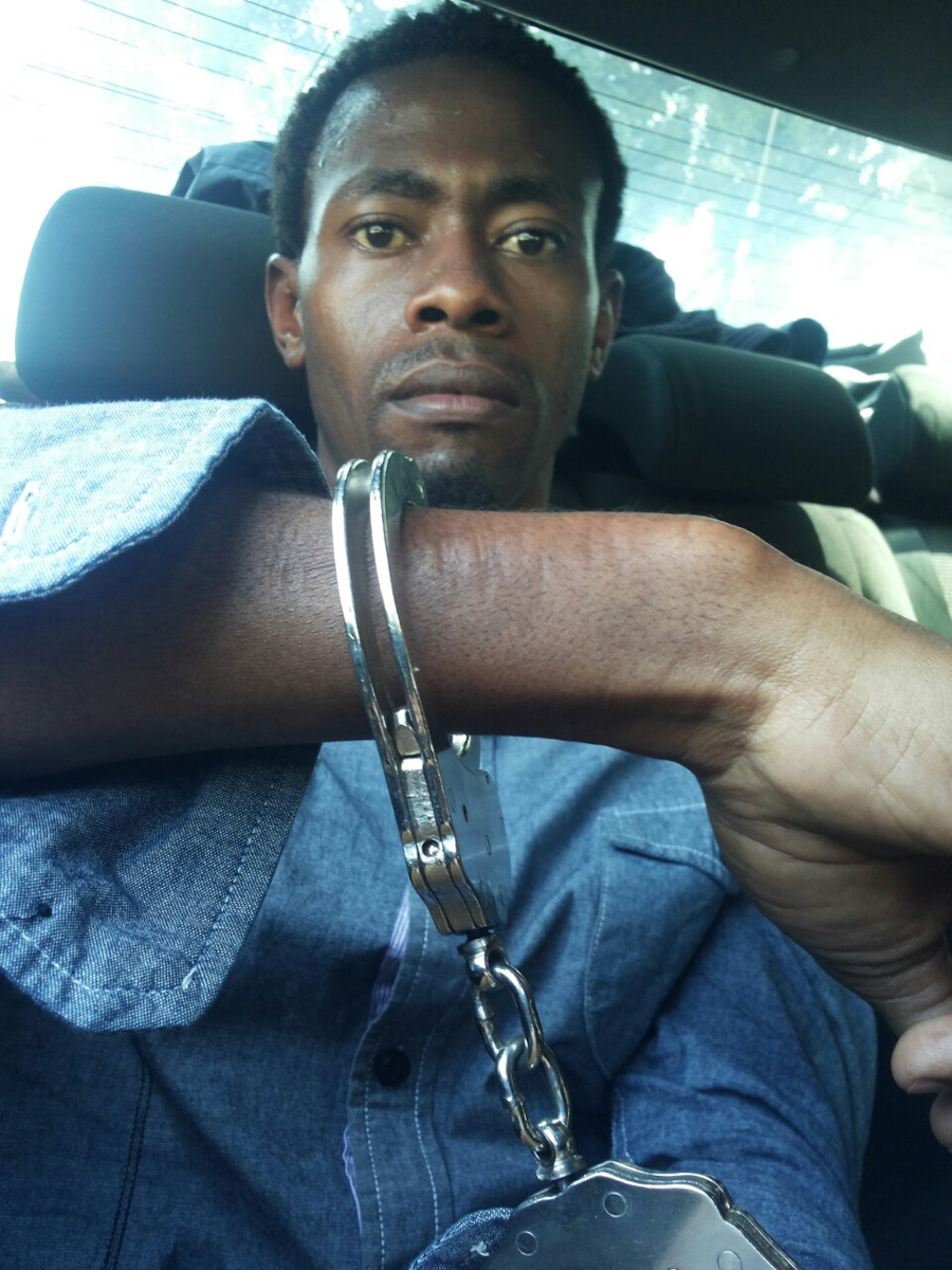 Sa'ad Hussein after being arrested in Nairobi in January. Somalis being arrested in Kenya without committing a crime is not an uncommon occurrence.