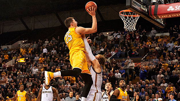 Crusaders forward Alec Peters might be the best player in the NIT.