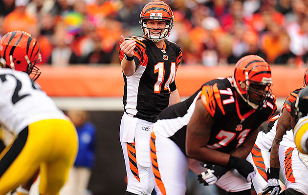 Dalton (second round, 35th pick) started every game as a rookie in 2011.