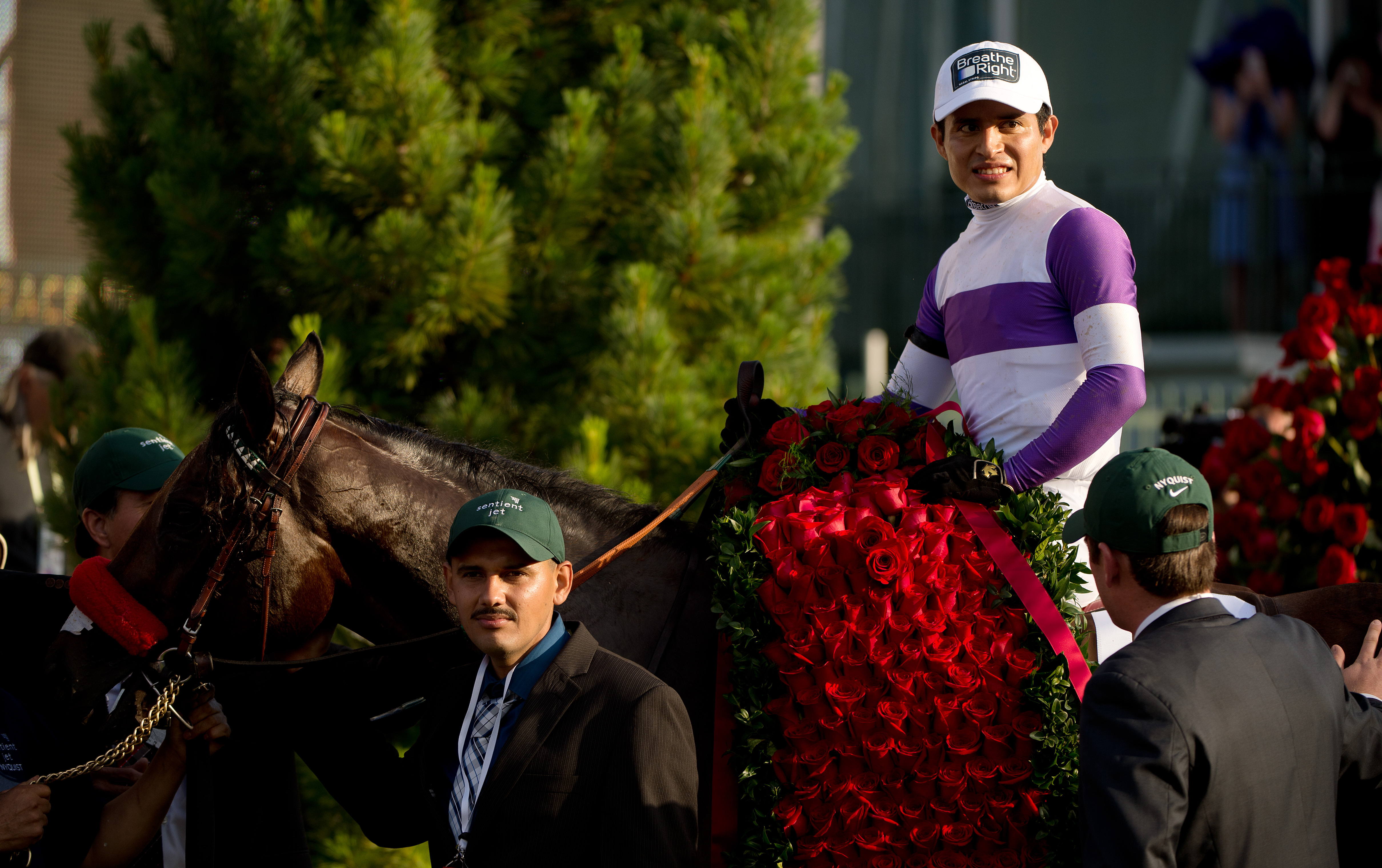 Mario Guitierrez is now two-for-two in the Kentucky Derby, having won on Saturday and in 2012 aboard I'll Have Another.