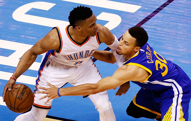 Oklahoma City Thunder look to close out defending champion Warriors