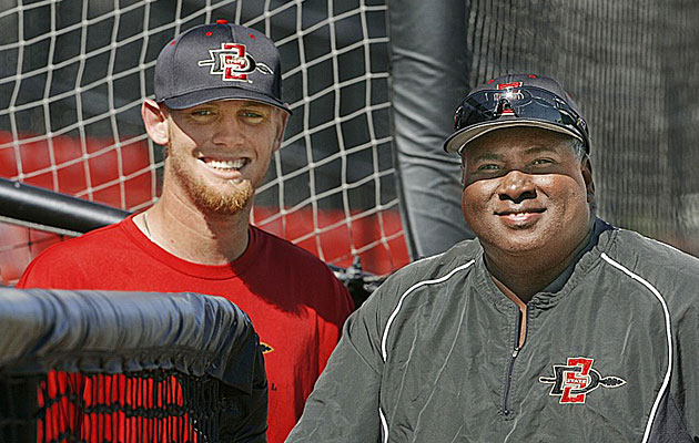 Stephen Strasburg became the No. 1 pick in the 2009 MLB draft after starring for Gwynn at San Diego State.