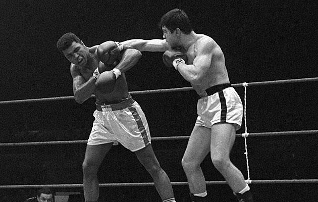 Muhammad Ali (left) and Karl Mildenberger, from Sept. 10, 1966