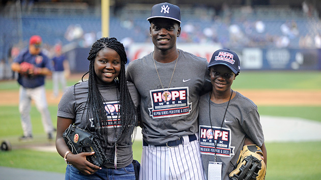 Chris was invited to NFL and MLB games in the wake of the tragedy, but each invitation came with some sadness.