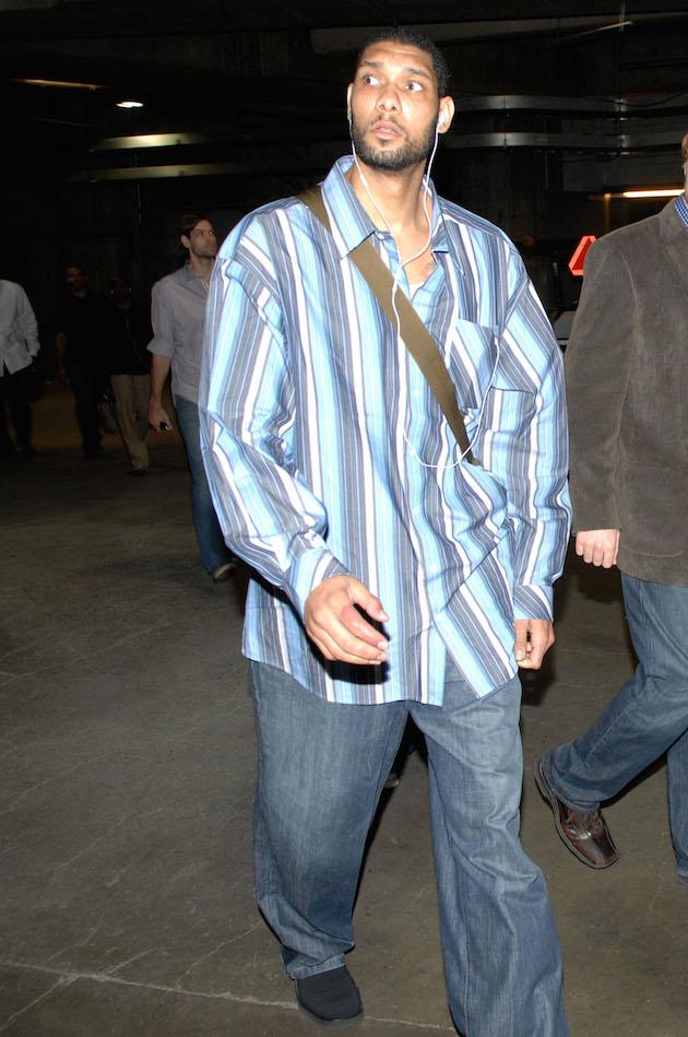 Tim Duncan Ranking His Worst Fashion Crimes Photos Si Com