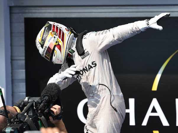 Hamilton, dabbin' on all the doubters.