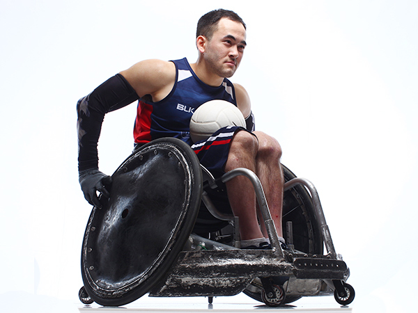 Wheelchair Rugby - Chuck Aoki