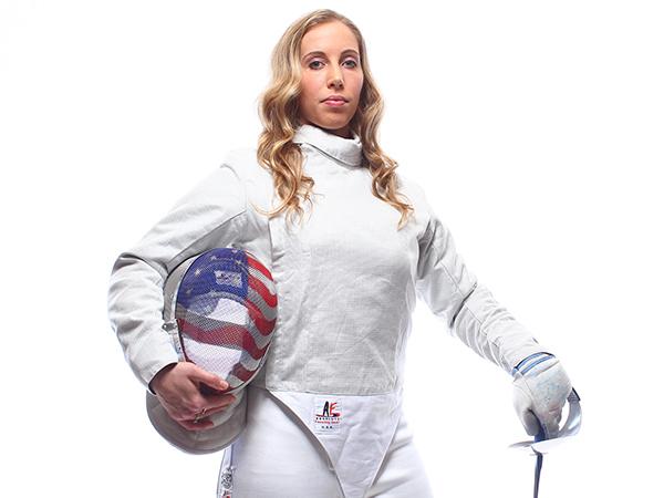 Fencing - Mariel Zagunis